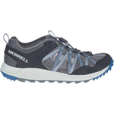 Chaussures de Trail MERRELL WILDWOOD AEROSPORT Gris/Bleu Foncé 2021